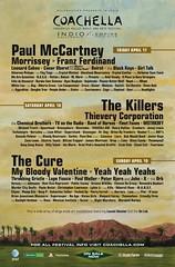 Coachella 2009 Lineup