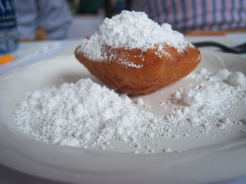 Beignets from the Ralph Brennan's Jazz Kitchen Food Demonstration at Disney's California Food & Wine Festival