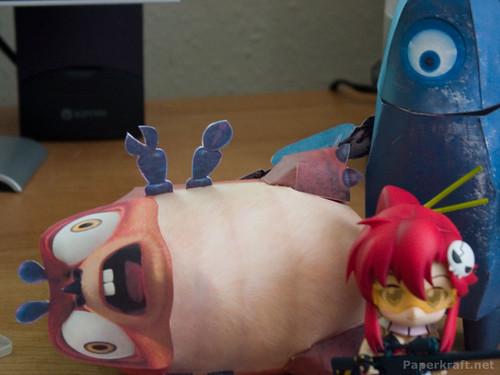 Alien Miner Robot, Insectosaurus, and Yoko