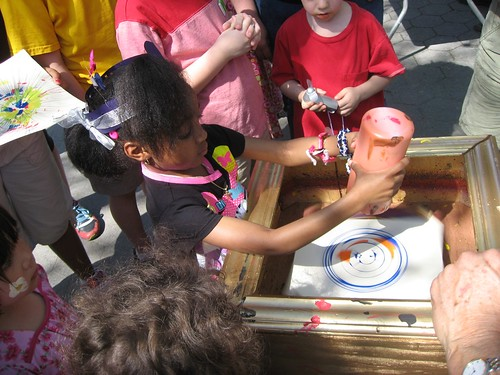 Kids Love Spin Art