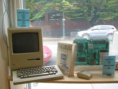 antique mac (smallritual) Tags: usa classic apple computer portland macintosh washington mac bookstore 1984 powells
