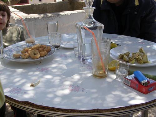 hors d'oeuvres at ramni hania chania