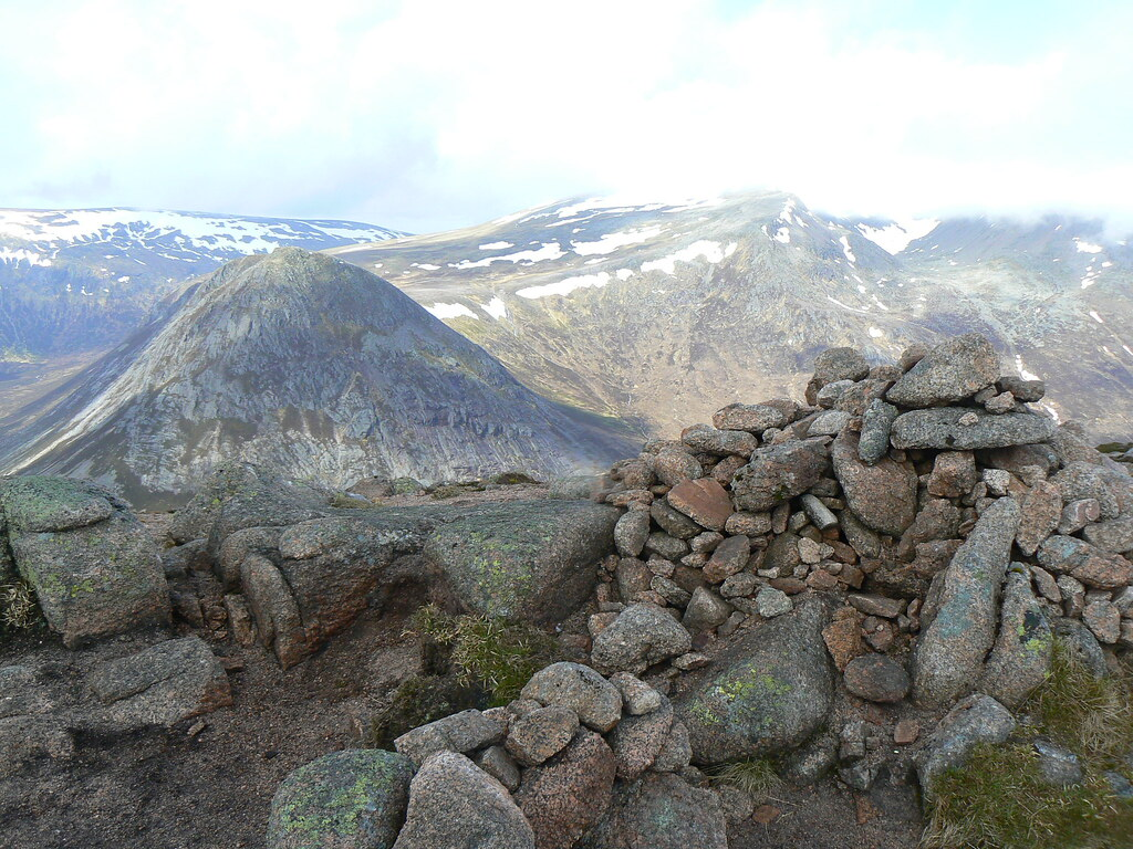 Summit of Carn a' Mhaim (1037m)