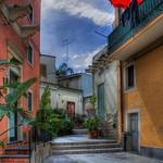 Aci Castello (CT) - Vicolo del paese (HDR)