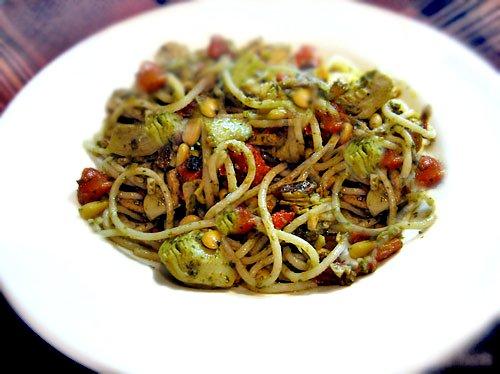 Gluten Free Tuna Noodle pasta dish Mediterranean style