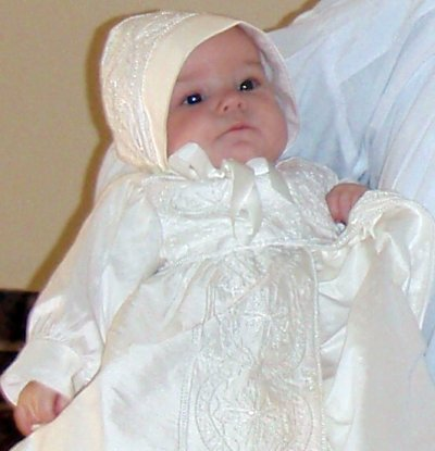 Pictures from Violets Baptism