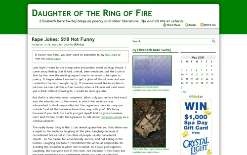 Daughter of the Ring of Fire