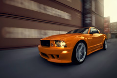 Mustang GT (oskarbakke) Tags: orange ford car nikon muscle american mustang gt saleen d300 automotiverig oskarbakke