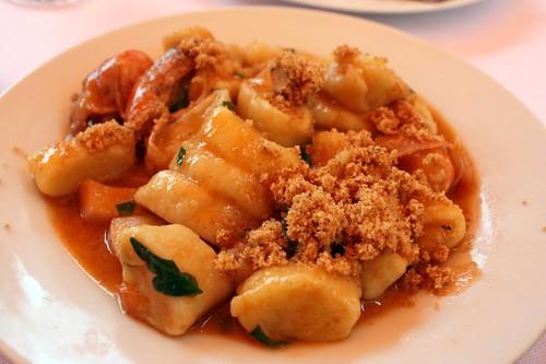 Aromi - Bramborove gnocchi s morskymi plody
