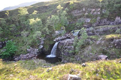 Waterfall below Beinn Alligin