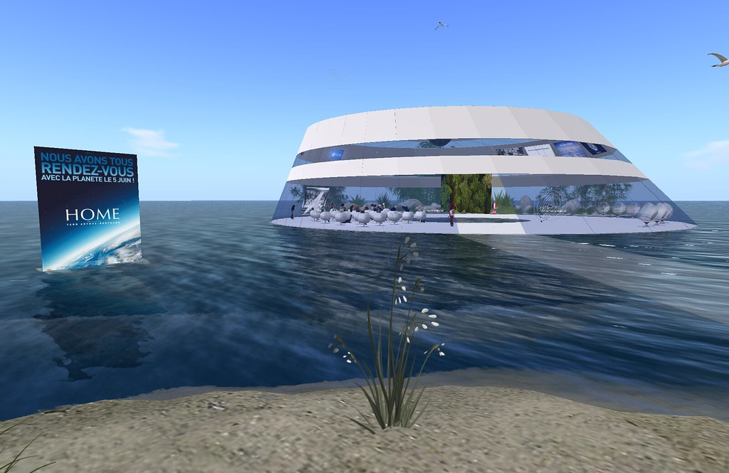 HOME in Second Life (Ile Verte / Les Humains Associés)