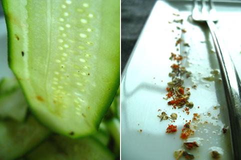 zucchini shave salad