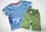 Road Trip - shorties & t-shirt set - medium