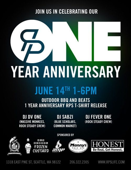 One Year Anniversary BBQ