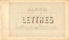 album n2 peintre lettres 1