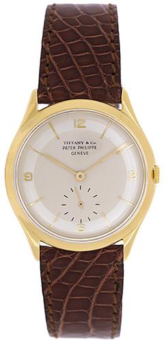 Vintage Patek Philippe Men's Gold Watch 2507/1