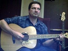 Bob Goyetche and the Six String Nation Guitar