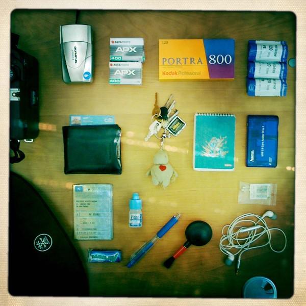 what's in my bag / pakowanie majówkowe