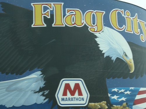 Flag City = Findlay, Ohio