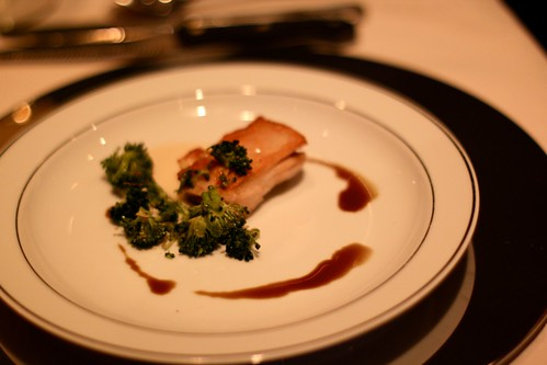 Chicken with Broccoli Gremolata and Lily Puree