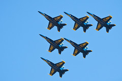 Blue Angels (ep_jhu) Tags: airplane flying aircraft formation airshow hornet airforce f18 usaf blueangels usnavy avin usn jsoh andrewsairforcebase aafb jointserviceopenhouse countinggame