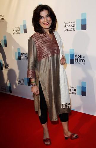 فاطمه معتمدآریا با دستبند سبز در جشنواره فیلم کن by sabzphoto.