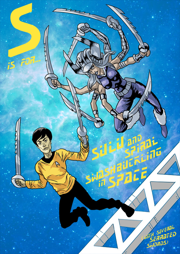 S is for... Sulu and Spiral Swashbuckling in Space