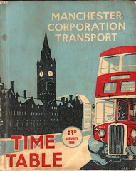 Manchester Corporation Transport - timetable cover, January 1950 (mikeyashworth) Tags: england manchester lancashire royalexchange 1950 albertsquare fallowfield crossley withington manchestertownhall westdidsbury bustimetable manchestercorporationtransport manchesterbuses crossleymotors crossleybus gvr122 manchesterbus41 mikeashworthcollection