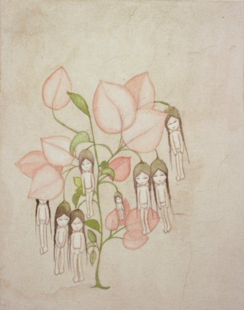 Kyung Jeon, Flowering Girls, 2009