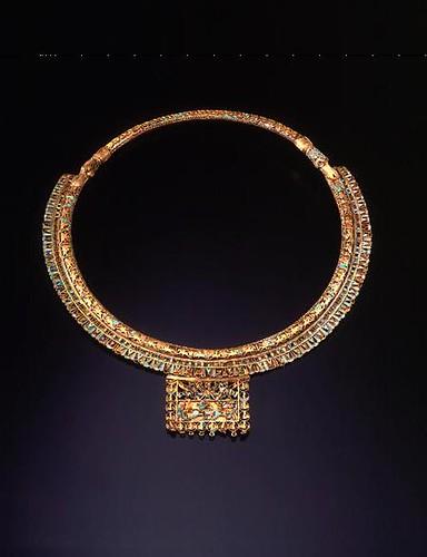 Achaemenid Gold Cloisonne Pectoral