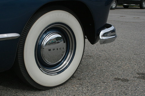 even though whitewalls were standard all black tires become highly sought after as luxury tires unlike whitewall tires black tires required less care and