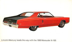 1969 Mercury Marauder X-100 (coconv) Tags: pictures auto door old 2 two art classic cars hardtop 1969 car illustration vintage magazine advertising cards photo flyer automobile post image mercury photos antique album postcard ad picture images advertisement vehicles photographs card photograph postcards vehicle kit autos collectible 69 collectors press brochure coupe automobiles dealer marauder prestige x100