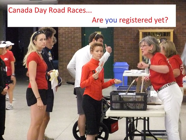 Canada Day Road Races: Registered Runners