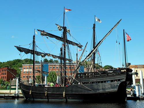 The Pinta at Dock