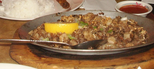 sisig, from Renee's