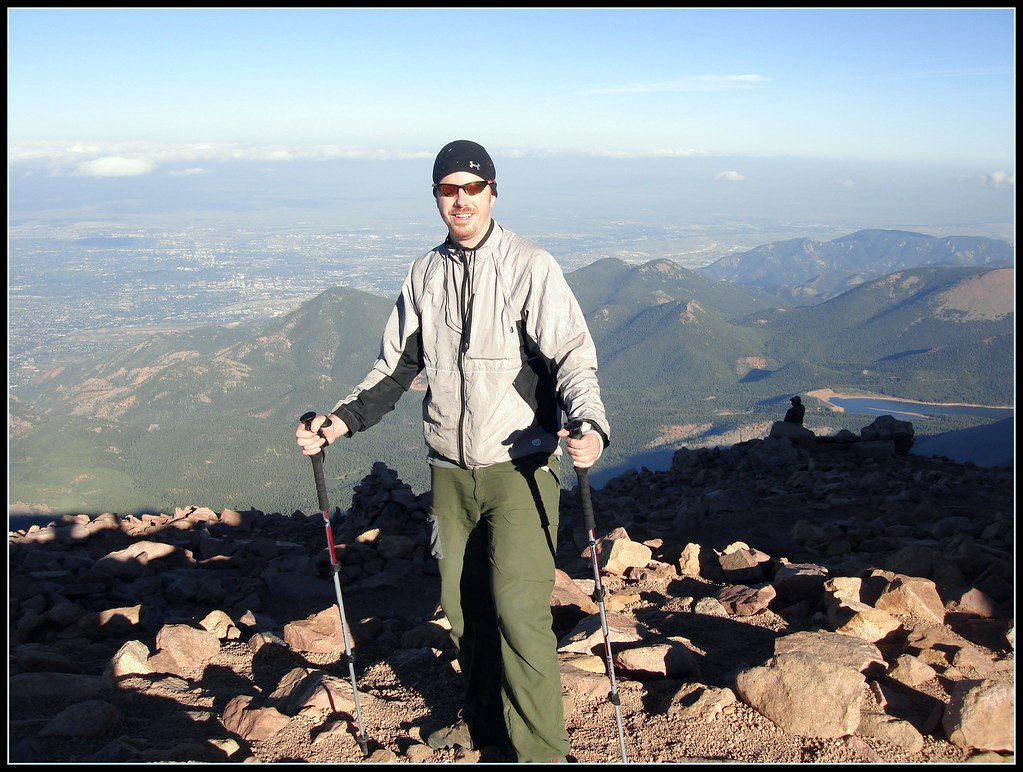 backpacking pikes peak solo