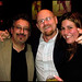 Joseph Ferrara, Jeff Turner and Heather Elias - Tonic Bar, NYC