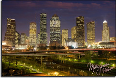Houston Skyline From Roof (MikeJonesPhoto) Tags: nature landscape texas photographer tx scenic professional mikejones 0888 mikejonesphoto smithsouthwestern wwwmikejonesphotocom