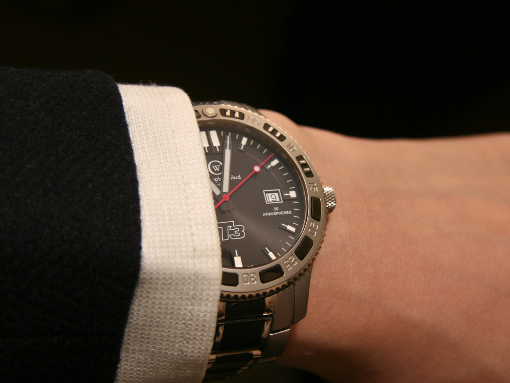 Dress wristshot - Christopher Ward C6 T3