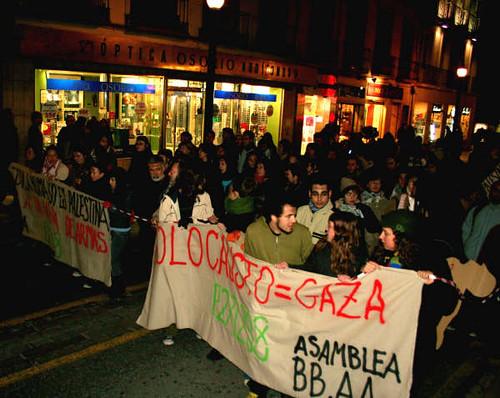 Manifestación 15 Enero 02