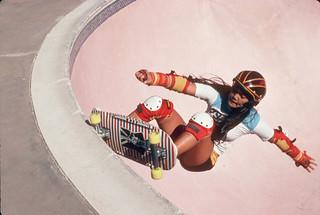 Judi Oyama Winchester Skatepark San Jose, 1979