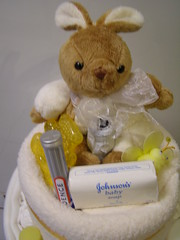 Cream champagne nappy cake (russell.davina) Tags: babies diapers nappies babygift diapercake babyshowergift nappycake babyshowercenterpiece babyhamper designernappycakes wwwdesignernappycakescoza