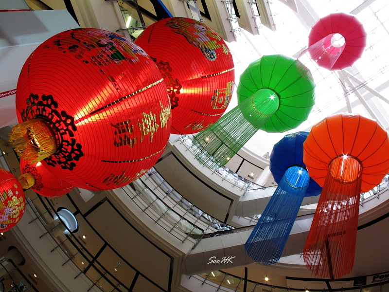 Chinese New Year Decoration @ Central World, Bangkok, Thailand