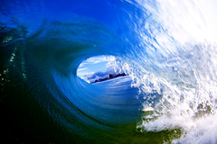 daylight flash (Jeff.Levingston.) Tags: blue fun barrel tunnel spray fisheye tokina shorey outlooking