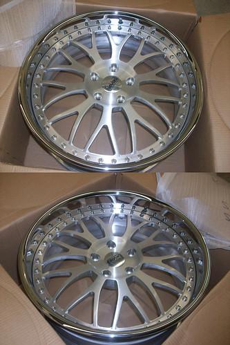 Custom 3 Piece Wheels for BMW 335i