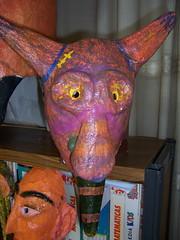 mascaras (otxolua (Josu Garro)) Tags: carnaval papelmache manualidad cartonpiedra