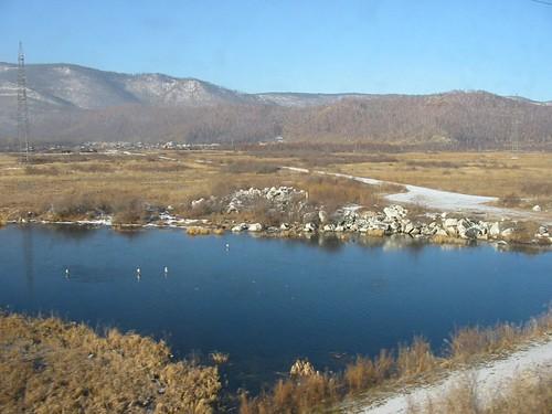 Baikalmeer zonder ruit