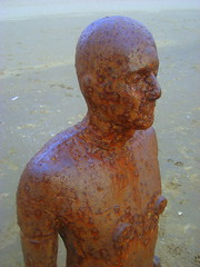Torso (notFlunky) Tags: uk sea england art beach statue liverpool coast mersey crosby merseyside anthonygormley scouse