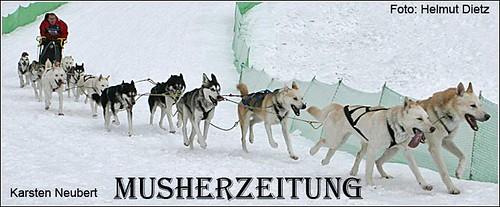 Karsten Neubert, Deutscher Meister, Siberian Husky - open class