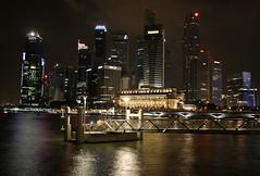 Singapur (WeiterWinkel) Tags: skyline singapore nightshot dri singapur hdr animoto